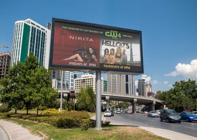 Outdoor Billboard Design