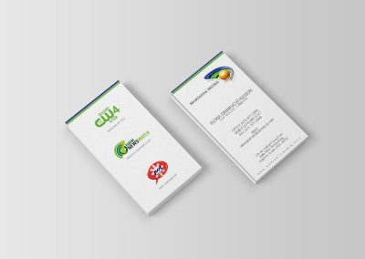 Marianas Media Business Card front & back
