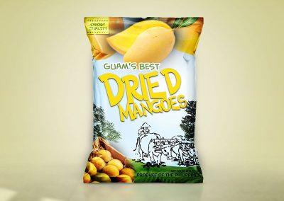Dried Mangoes Chips Packaging