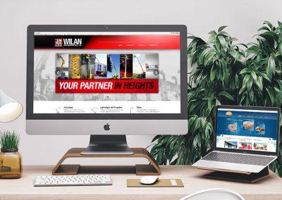 Wilan Merchandising and Ocean Websites